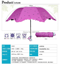 Wholesale , Hello kitty umbrella/ folding umbrella/sunshade /rainshade,free shipping(China)