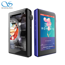 2017 New Shanling M2s HIFI DSD MP3 Music Player With Bluetooth Support Apt-X Retina Display Better Than Shanling M1 Free Case(China)