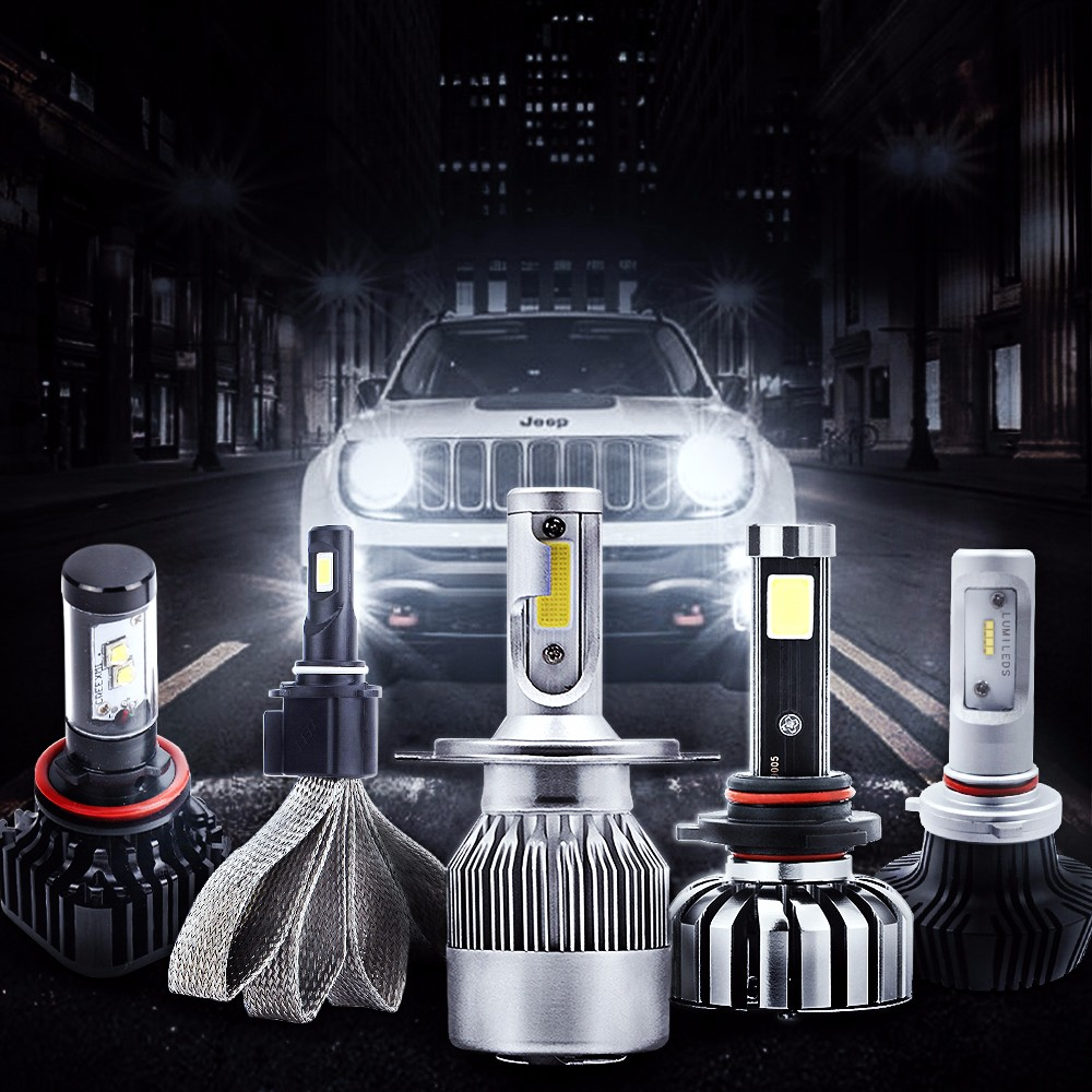 Various Led Headlight Bulbs