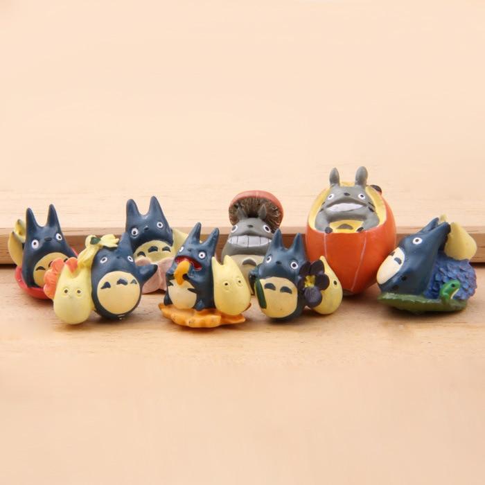 Miyazaki hayao small resin cat various kinds of kitten children happy source of toys children