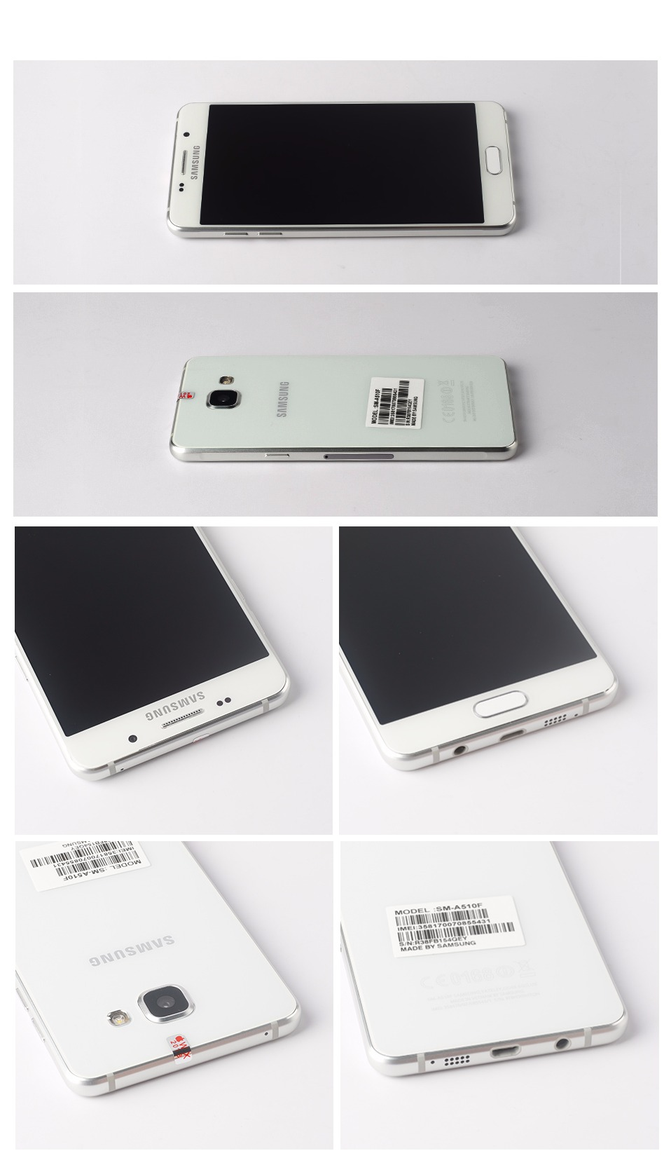 Samsung Galaxy A5 2016 Smartphone A510f 4g Lte 16gb Rom 2gb New Sm Ram 2 Memori Description Bestsupplier Specilizedinusedphonesforeigntradebusinessformorethan10years