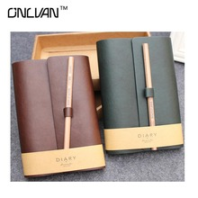 Vintage Style Notebook PU Leather Notebooks School Tools Office Accessories Travelers Notebook New Design High Quality