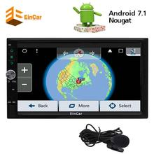 EinCar Electronics Android 7.1 Auto Car Radio Stereo Car Video Stereo Receiver in Dash 2Din GPS Navigation Automotive Audio Wifi(China)