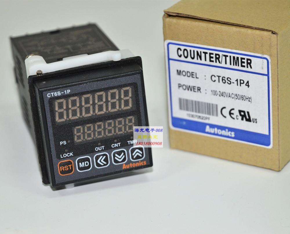 CT6S-1P2  CT6S-1P4  AUTONICS Multifunctional Timer Counter  100% New Original(China)