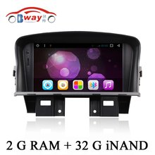 Bway Android 6.0 car Radio for CHEVROLET CRUZE DAEWOO LACETTI car dvd player 1024*600 2 din in dash car audio External MIC