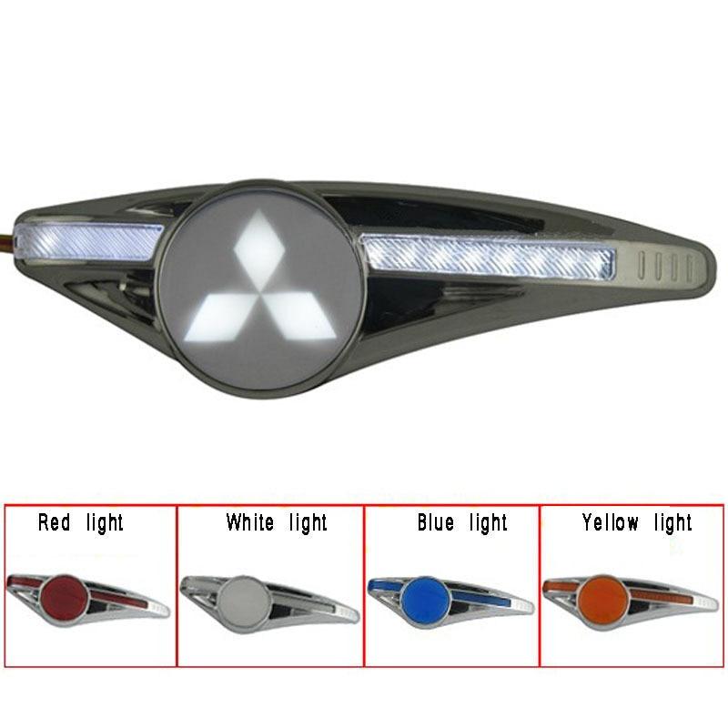 Super side turn signals Direction Indicator LED light with logo for  MitsubishiI lancer Outlander PHEV ASX <br><br>Aliexpress