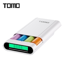 TOMO M4 Smart Power Charger C4 X 18650 Li-ion Battery 5V 2A Powerbank Case Portable DIY Power Bank Box Charger For 18650 Battery
