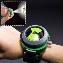 Bandai Ben10 Projector Watch Watches Ben 10 Projector Birthday Gifts Kids(China)