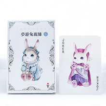 30 pcs/lot Beautiful rabbit In wonderland postcard landscape greeting card christmas card birthday card message gift cards