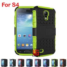 Cheap Armor Rugged Hybrid Heavy Duty Hard PC TPU ShockProof Phone Phon Case capinha Cover For Samsung Galaxy S4 GT I9502 S 4