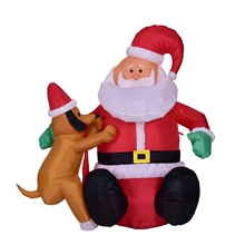 Christmas Inflatable Santa Claus Christmas Decorations for Home Party Navidad New Year Gift Outdoor Inflatable Statues