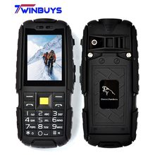 "Forest panthers A9 Rugged Waterproof Shockproof Highlight Flashlight Power Bank Cell Phone 2.4"" 4800mAh Dual SIM Outdoor phone"