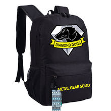 Metal Gear Solid V Diamond Dogs Logo Cosplay Backpack Unisex Shoulder Bag