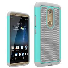 ZTE Axon 7 Case Hybrid Soft Rubber Cushion Armor Drop Shock Protection Cover Hard Case For ZTE Axon 7 Premium A2017 5.5 inch