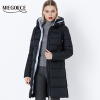 Miegofce Thickening Cotton Padded Female Jackets Windproof Women Parkas  Neck With Hood Winter Coat Cotton Hot Winter Model 2018 f79a77097355