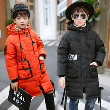 Pig Kami manufacturers selling new children feather boy children clothing in winter season thick coat special offer