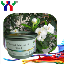 High Quality YY Screen Printing Water based Perfume Ink , 1kg/ can(China)