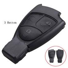 Replacement Shell 2/3/4 Buttons Car Remote Key Fob Case Cover Mercedes Benz C E ML S SL SLK CLK B Class Original Keys