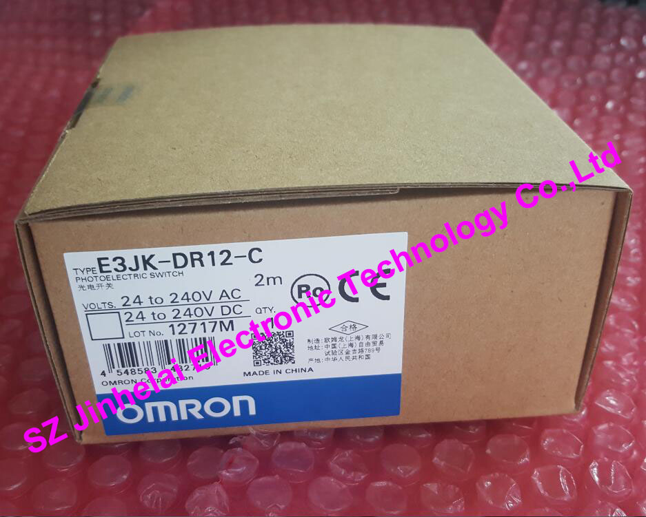 100% New and original OMRON E3JK-DR12-C PHOTOELECTRIC SWITCH  2M<br>