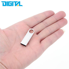 Mini Key 32GB 16GB 8GB USB 2.0 Flash Drive Metal Pen Drive 32 GB 16 GB 8 GB USB Stick Pendrives Data Storage
