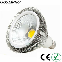 1pcs Led COB PAR38 Lamp 24W 30W 36W E27 Dimmable Led Spot Bulbs Lights (Frosted + Clear)Cover AC 85-265V