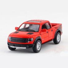 KINSMART Toy Car Truck Models 1:46 Diecast Metal + ABS Cars Toys For Children, Doors Openable Trucks Model / Brinquedos