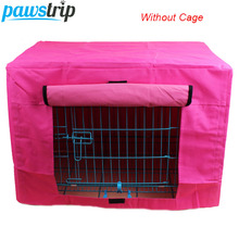 Durable Pet Dog Cage Cover Waterproof Oxford Puppy Crate Cover Without Cage S/M(China)