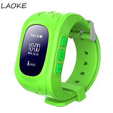 LAOKE Kids GPS Tracker Q50 Smart Watch For Children Wearable OLED LCD Electronic Anti-Lost with SIM Card Cell Phone Watches