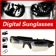 Digital glasses Audio Video Camera DV DVR Sunglasses cam Sport Camcorder Recorder  For Driving Outdoor