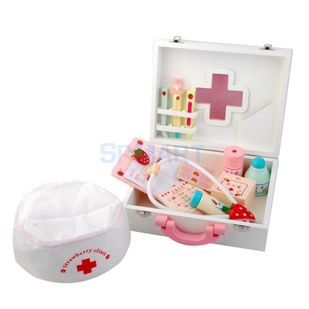 KIDS DOCTOR SET Childrens Girls Boys Nurses Toy Medical Role Play Kit Gift UK