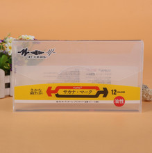 carrying kraft case box packaging New Design Gift Paper Packaging Box With PVC Window ---DH31290(China)