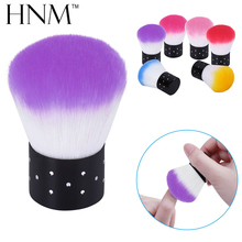 HNM 1Pcs Soft Nail Cleaning Brush Nail Brush Nail Art Manicure Tools Nail Dust Cleaner(China)