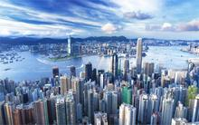 Building cityscapes buildings Hong Kong cities harbours 4 Sizes Home Decor Canvas Poster Print