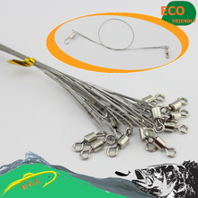 Zander fishing line at 25 cm 30 pcs wire leader front line(China)