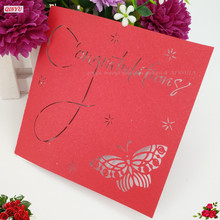 Nice Christmas Cards 3D Pop Up Laser Cut Birthday greeting card Custom Greeting Cards Christmas Gifts Souvenirs Postcards 5Z(China)