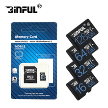 Binful Class10 new cartao de Memory Card 32GB SDHC SDXC 128GB 64GB micro sd card 16GB 8GB Microsd TF card 4GB retail package(China)
