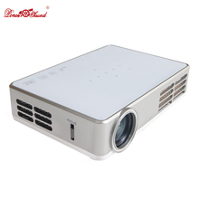 Poner Saund mini projector 3000 lumens dlp wifi protable lcd home theater 3D full hd tv 1080p video beamer projetor proyector US