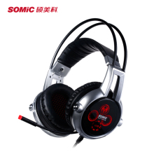 Somic E95X Headphone USB 7.1  Vibration 5.2 Audio Encoding Multi-Channel Noise Isolating Super Bass LED Gaming Stereo Headset