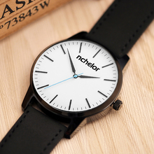 2017 casual 45mm diameter men/women disc watches leather band watch Rome fashion ladies watch quartz watch dress simple straps(China)
