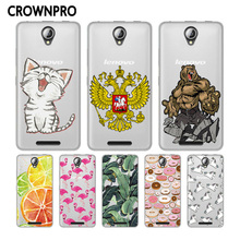 Buy CROWNPRO Soft TPU Case FOR Lenovo A5000 5000 Cover Silicone Transparent Print Back FOR Lenovo A5000 Mobile Phone Case for $1.21 in AliExpress store