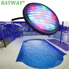 RAYWAY Par56 LED Swimming Pond Underwater Lighting bulb 54W AC /DC12VRGB swimming pool lamp Piscine plastic Lamp(China)