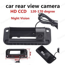 best selling wireless HD CCD Car Rear View Camera Reverse Camera RCA NTST Trunk handle For Mercedes Benz