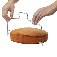 Cake Bread Slicer Cutter Stainless Steel  Adjustable Wire Cake Slicer Knife Easy Cake Separation Tool Kitchen Accessories
