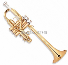 EbD Trumpet Brass Body Lacquer Finish Monel valves Musical instruments Factory Supply Free Shipping
