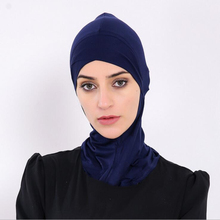 Muslim Modal Full Cover Inner Hijab Cap Islamic Head Wear Hat Underscarf Colors Cross 2017 new Arabic brand scarf