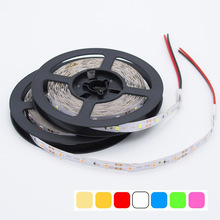 SMD 2835 Led strip light 5M/Roll More Brighter than 5050 3528 SMD Led strip DC 12V 60leds/M Home Decoration Indoor Tape lamp