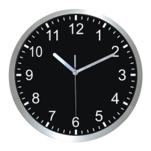 12 Inch Stainless Steel Arabic Numerals Design Wall Clock Silent Quartz Decorative clock