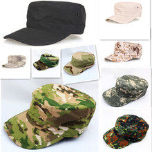 Hiking male hat Summer camping man's Camouflage Tactical hat army Fishing bionic Baseball cadet Military cap