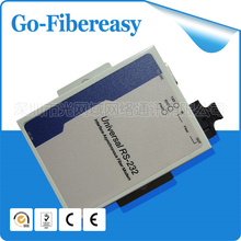 1Pair RS232 to Fiber Optic Modem Multi-mode SC fiber port 2km rs232 to ethernet fiber converter(China)