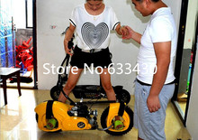 Hot!!Gas Scooter weight 23kg 49cc Intelligent Brake System No Chain Gas Skateboard Free shipping!!(China)